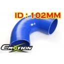 102mm 4 inch Silicone Elbow 135 Degree Hose Blue - Emotion ( EASHU03-135D102B )