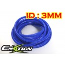 3mm ID Silicone Vacuum Hose Tubing Blue 3 Meters - Emotion ( EASHU06-3B )