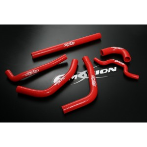 Silicone Radiator Coolant Hose Kit for Kawasaki KXF250 KX-250F 09 10 11 Red - Emotion (M049-R)