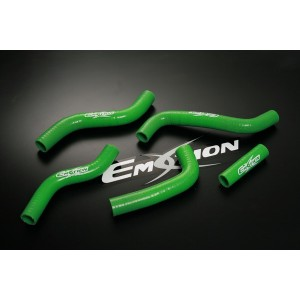 Silicone Radiator Coolant Hose Kit for Suzuki RMZ250 RM-Z250 07 08 09 Green - Emotion ( M023-G)