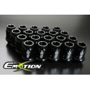 Mazda Aluminum Wheel Lug Nuts M12 x 1.5 20pcs Black - Emotion ( CAPP248L )
