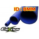 8mm 0.3 inch ID Silicone Straight Hose 1 Meter Blue - Emotion ( EASHU01-1M8B )