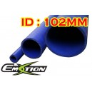 102mm 4 inch ID Silicone Straight Hose 1 Meter Blue - Emotion ( EASHU01-1M102B )